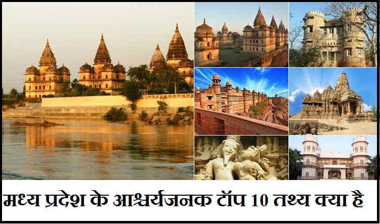 मध्य प्रदेश के आश्चर्यजनक टॉप 10 तथ्य क्या है