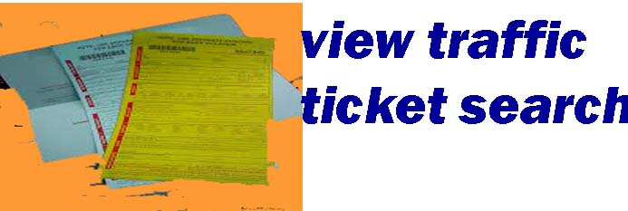 view traffic ticket search