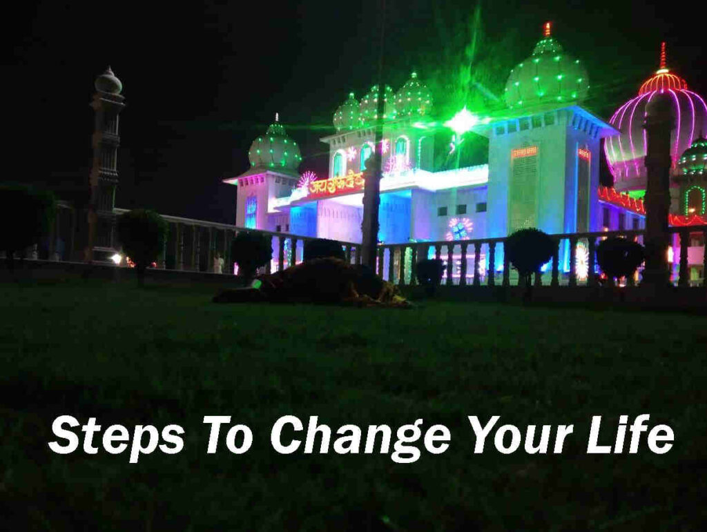 12 Steps To Change Your Life.