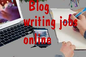 How to do blog writing jobs online at home?