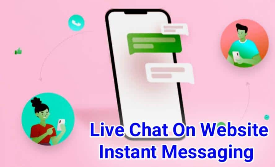 Live Chat On Website Instant Messaging